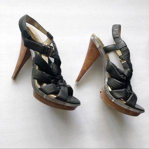 Michael Kors Braided Strap Sandals
